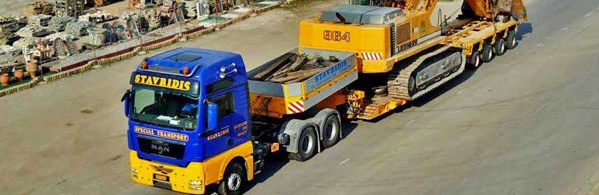 Image of heavy vehicle transport